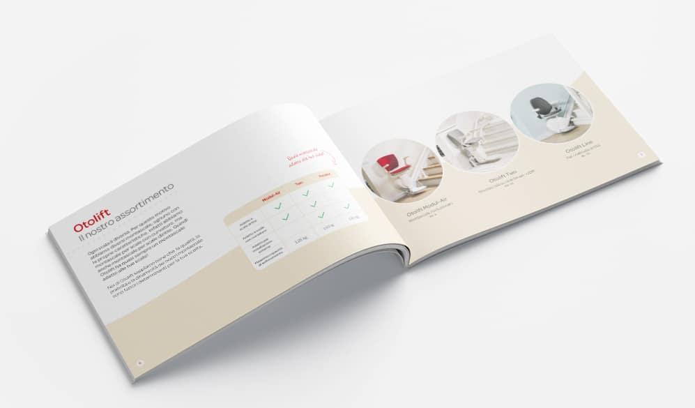 Brochures del montascale Otolift C
