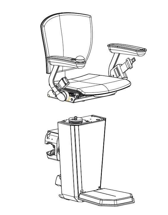 Le specifiche tecniche di Otolift Two.